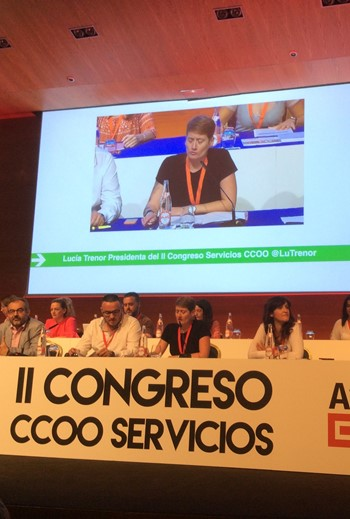 Advancing Together - UNI celebrates the CCOO congress