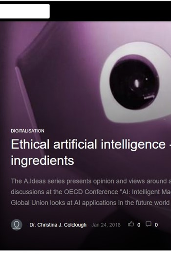 Getting heard: OECD publishes UNIs Ethical AI principles